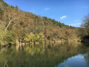 The Big Piney River--October 2016