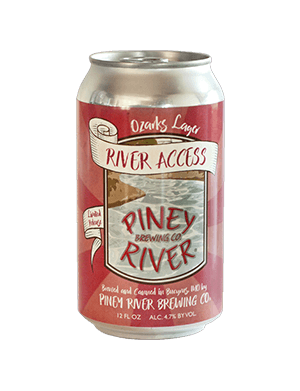 River Access Ozarks Lager